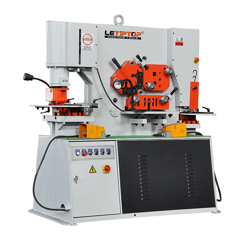 Double Cylinder Hydraulic Ironworker