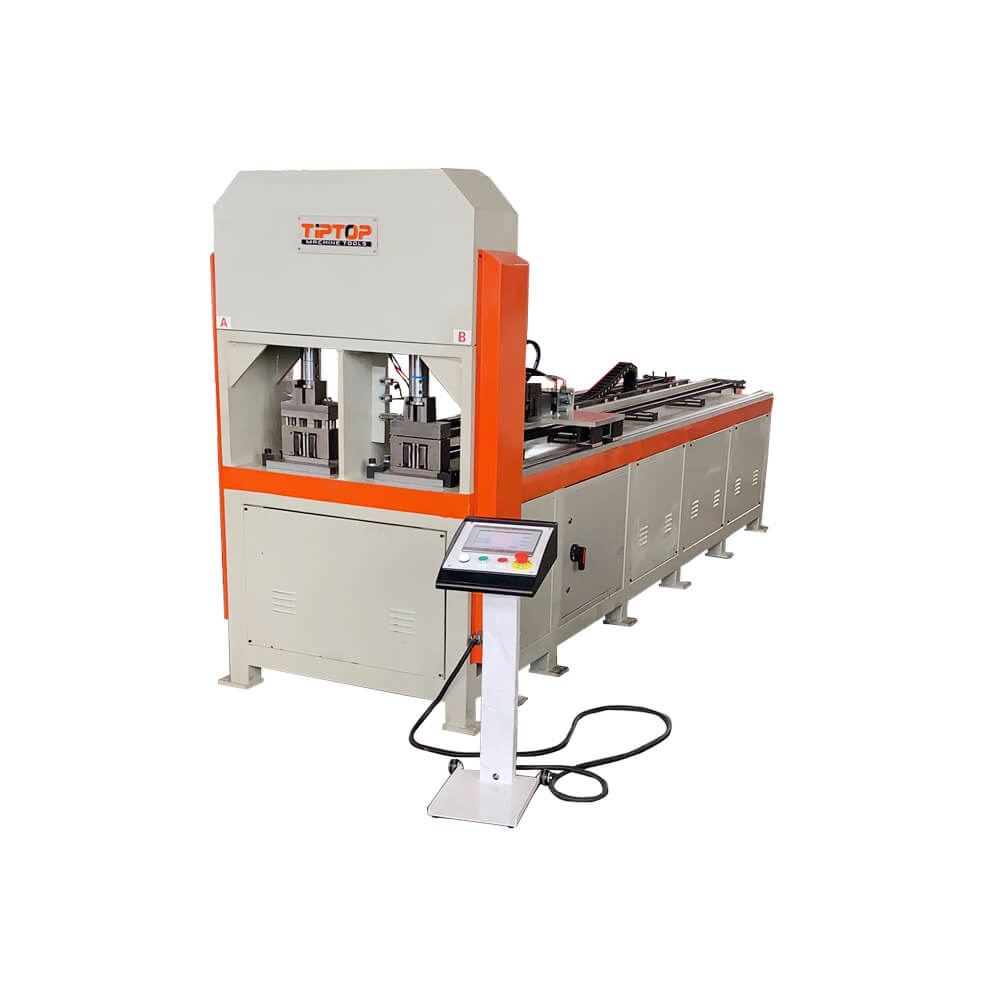 CNC Hydraulic Tube Punching Machine