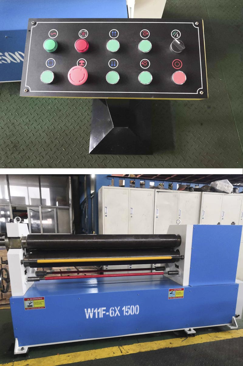 3-Roller-plate-rolling-machine