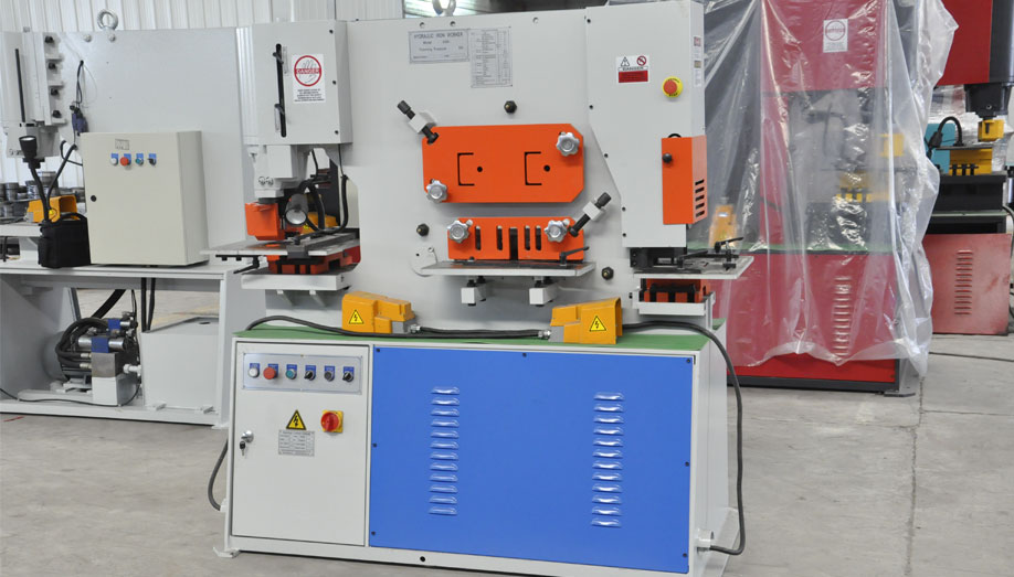 Hydraulic Ironworker Machine (1)